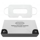 Masques universels VR avec boîte de rangement (blanc, à partir de 100 pièces)