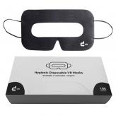 Masques universels VR avec boîte de rangement (noir, à partir de 100 pièces)