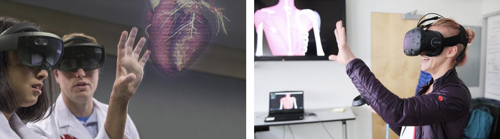 VR pour les opérations complexes